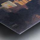 The visit -1- by Felix Vallotton Metal print