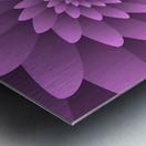 3D Floral Modern Artwork Metal print