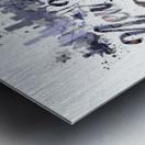 City-Art NYC Composing | Typography Metal print