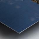 Blue Boat at Apollo Bay 011142609 Metal print