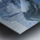 Heavenly blue Metal print