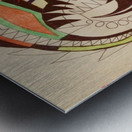 Warrior Wings Metal print