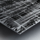 Construction Metal print