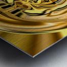 GoldTone3 Metal print