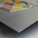 Elephant Mosaic Metal print