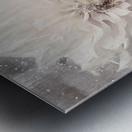 Blanc magique Metal print