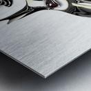 Perceptive Formation Metal print
