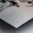 Soft Impression Of Dysplastic Departure Metal print