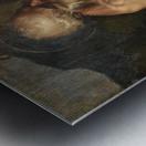 Saint Jerome meditating Metal print