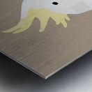 COCKATOO BIRD LOW POLY ART Metal print