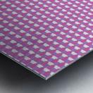 Pink Pattern Artwork Metal print