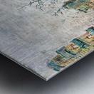 Boulevard de Clichy by Van Gogh Metal print