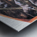 Dead victims, design (II) by Albin Egger-Lienz Metal print