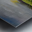Sunshine Bridge at Cartecay Vineyard Metal print