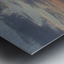 Sunset in Acciaroli Metal print