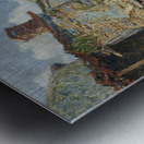 The Farmyard, Moret Metal print