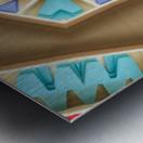 Pattern design Metal print
