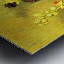Hollyhocks by Van Gogh Metal print