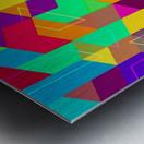 Vivid Pattern I Metal print