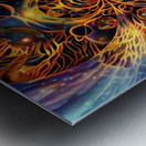 Colorful space Metal print