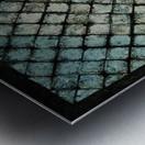 Les bleus vitraux -  Contemporary Art Impression metal