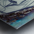 Chevelure 2 Metal print