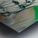 Chevelure 4 Metal print