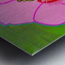 Hibiscus. Annie F Metal print