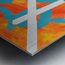 Fire and Water. Joe C Metal print