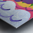 Purple Elephants. Michael D. Metal print