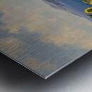 The Sunflower Grove Metal print