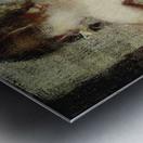 Pigtails Metal print