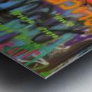 Street colors Metal print