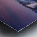 Bromo vs Semeru. Metal print