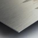 Dissolving Metal print