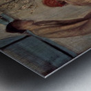 Life angel-1-by Giovanni Segantini Metal print