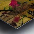 Oriental Painting. Japanese Style Metal print