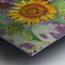 Solar rendezvous  Metal print