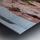 Pink Granite Shore Killarney I Metal print
