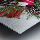 Merry Christmas Day Metal print