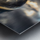 Lens Ball2 Metal print