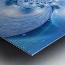 Planetarium Fractal Metal print