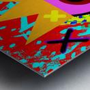 Kinpi The Bandaid Metal print