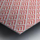 Living Coral Pattern I Metal print