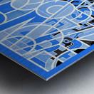 Type Is Deviant - Typography Art Print Metal print