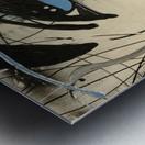 3028 - edge Metal print