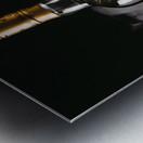 WHISKEY BOTTLE  Metal print