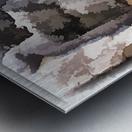 The baker Metal print
