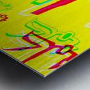 Add & Temoty Metal print