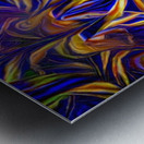 Abstract DNA Metal print